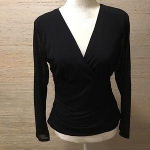 New... Mesh long sleeve top